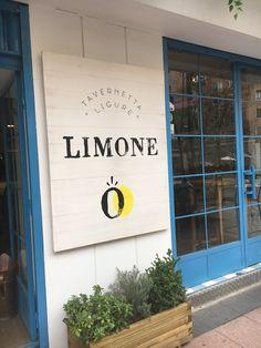 Limone, La Tavernetta Liguria En Madrid