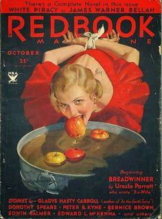 Halloween Redbook Cover - A Nostalgic Halloween