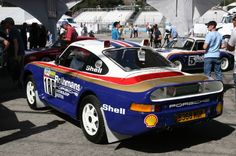1985 Porsche 959 Paris Dakar. The road-going version of Porsche's technological wunderkind, the Porsche 959, was still undergoing development in 1985, including running in the grueling Paris-Dakar rally. This car was one of the first 959s to compete in the event in 1985. The following year, 959s would place first and second.