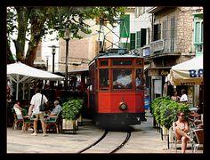 Soller #Mallorca #travel #tourism