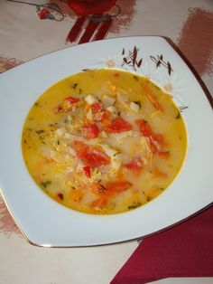 Soul Food, Cheeseburger Chowder, Soup Recipes, Food To Make, Goodies, Food And Drink, Meals, Vegan, Cooking