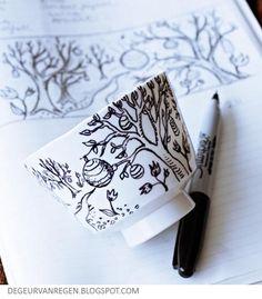 Aprende a ilustrar tus tazas con los diseños que tu quieras.