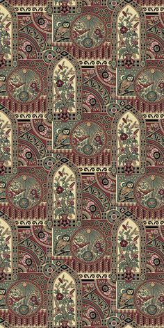 Nocturnal Owl - Historic Wallpapers - Victorian Arts - Victorial Crafts - Aesthetic Movementwww.aestheticinteriors.com