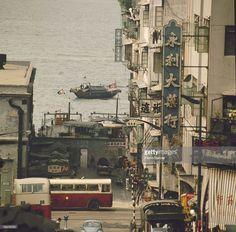ニュース写真 : Hong Kong . Scene of street. 1976.