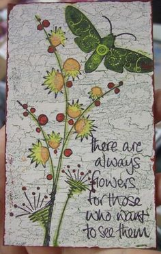 JOFY and Paper Artsy stamps on Fresco Finish Chalk acrylic paints and crackle glaze finish - so easy even I can do it!