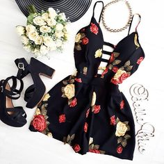 Image about outfit in Clothes by Feel like a diamond, Seen as a ruby Teen Fashion Outfits, Date Outfits, Outfits For Teens, Dress Outfits, Girl Fashion, Casual Outfits, Summer Outfits, Fashion Dresses, Summer Dresses