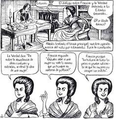 Olympe de Gouges: feminista, abolicionista y republicana. Una novela gráfica relata la vida de la mujer que introdujo por primera vez en Europa la idea de los derechos de la mujer, a la vez que recrea la caída del Antiguo Régimen y la Revolución Francesa