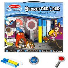 Melissa & Doug Secret Decoder Activity Book Kit