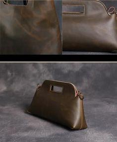 Vintage Full Grain Leather Satchel Bag, Womens Handbag, Leather Purses -  EchoPurse  women 6f50b8351c