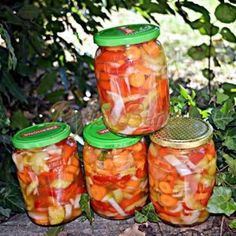 Romanian Food, Romanian Recipes, Preserves, Gin, Mason Jars, Stuffed Peppers, Vegetables, Cooking, Desktop