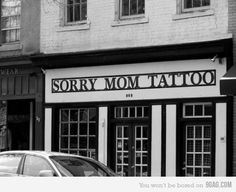 >> sorry mom // tattoos