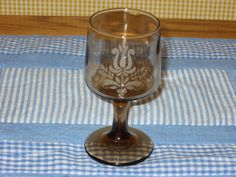 4 VINTAGE PFALTZGRAFF VILLAGE STEM GLASSES. FOR SALE IN MY BLUJAY STORE. http://www.blujay.com/?page=ad&adid=3127236&cat=28040125