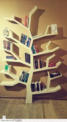 Regał drzewo 210x150x18cm - zdjęcie od Inspirujace półki - Gabinet - Styl Nowoczesny - Inspirujace półki