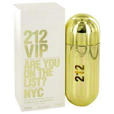 834463bf68626 ORIGINAL 212 Vip by Carolina Herrera Eau De Parfum Spray 2.7 oz for Women  From the