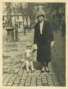 Rynek Podgórski ok. 1935 roku