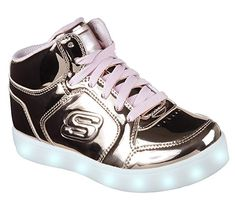 77b6a3fe6acd Skechers Kids Energy Lights-Dance-N-Dazzle Sneaker Review Lit Shoes