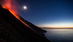 Magic Stromboli von Ruedi Thomi  #nature