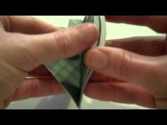 How to make Christmas Tree ornaments out of scrapbooking paper - YouTube