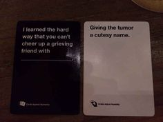 Cards against humanity game.I am dying lol. Funny Pins, Funny Shit, The Funny, Hilarious, Funny Stuff, Random Stuff, Funny Sarcasm, Random Humor, Random Things
