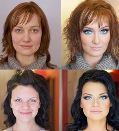 20 Unbelievable Before And After Make Makeup Photos | Most Viral Posts