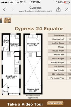 tumbleweed tiny house cypress 24 equator image only