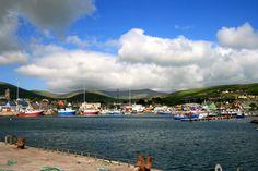 Dingle harbour ... the Dingle peninsula is beautiful.