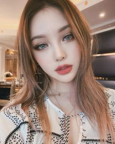 126 stunning makeup ideas for asian eyes – page 1 Korean Makeup Look, Asian Makeup, Korean Beauty, Asian Beauty, Korean Makeup Ulzzang, Make Up Looks, Pony Makeup, Hair Makeup, Bold Makeup Looks