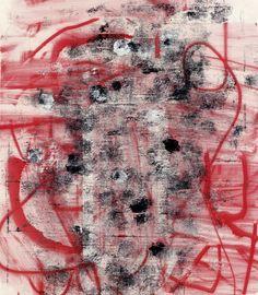 Favorite color combo- Pink, Black White: Christopher Wool, Sans titre, 2010