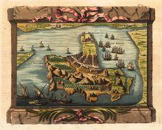 "willigula: "" Das Eyland Ormus (The Island of Hormuz) by Nicolaus Bellin, 1749 """