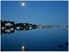 Quiet Beauty over Cape Porpoise Harbor - photo by Robert Dennis