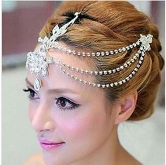 RESTOCK APRIL !!! (LAST ODER 30/4/2015)  Bridal Rhinestone crystal flower headpiece Adjustable forehead band Tiara  Price: RM79 (was RM120) Condition: Brand New, 100% High quality rhinestone sparkle and beautiful.Feature:It is the perfect accessory for weddings, proms, pageants, or other special occasions. Shipping Description: Item will be shipped within 24 hours after full payment is received.We ship worldwide by Post Registered Air mail. this international order may take longer to…