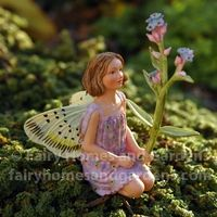The Forget-Me-Not Fairy - Cicely Mary Barker Flower Fairies