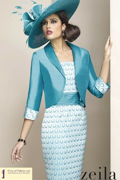 A gorgeous mother of the bride, mother of the groom, or wedding guest outfit by Zeila. Frox of Falkirk fashion.