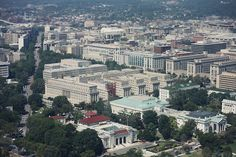 Washington DC, From above