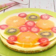 「アガーのサマーレアチーズケーキ」のレシピ動画