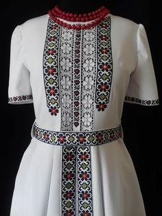 Afghan Dresses, Baby Girl Dresses, Hand Embroidery, Cross Stitch Patterns, Knitwear, Diy And Crafts, Costumes, Fashion, Embroidered Dresses