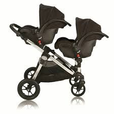 Baby Jogger City Select (twin mode - using Maxi Cosi infant carseats).