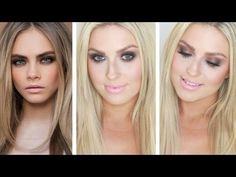 Cara Delevingne Makeup! ♡ Naked Palette! Smokey Bedroom Eyes - Dirty Bronze - YouTube