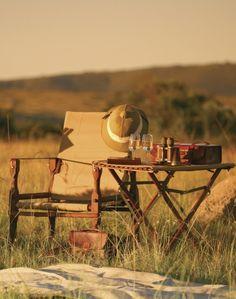Decor: mix in some vintage style safari gear #myaltparty #altlovesmaurices