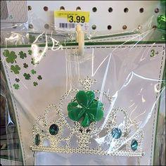 St Patrick's Day Anti-Sweep Hook Tiara – Fixtures Close Up St Patricks Day, Hooks, Retail, Retail Merchandising