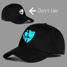 6ed0fe7005998 Hot Sale V for Vendetta Logo Hat Baseball Cap Casual High Quality  fashion   clothing