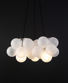 To create a showstopping light that's perfect for large spaces and high ceilings, cluster our medium frosted bubble chandelier in a group. Bubble Chandelier, Chandelier Ceiling Lights, Ceiling Pendant, Pendant Lamp, Pendant Lighting, Chandeliers, Entryway Lighting, Contemporary Chandelier, Ceiling Rose