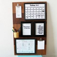 15 Incredible Command Centers (they'll get you organized!) - Organization Junkie