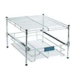 ORG Vertical Mesh Organizer Rack Organizing Kitchens and