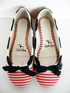 $20-50, Liberitae Sailor Flats 65 by chandinyc