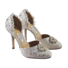 Diane Hassall Pearl Drift - Wedding Shoes ♥