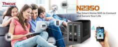 Thecus® Announces new 2-bay Home NAS: The N2350