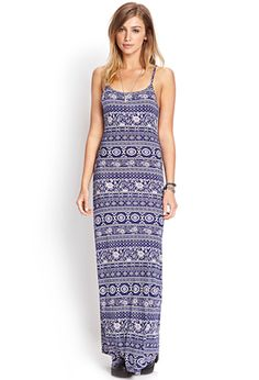Home Sweet Home Maxi Dress | FOREVER21 - 2000123683