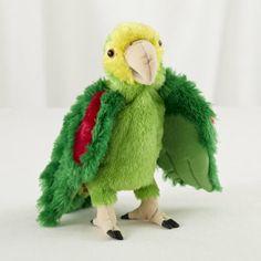 Amazon Parrot Hand Puppet