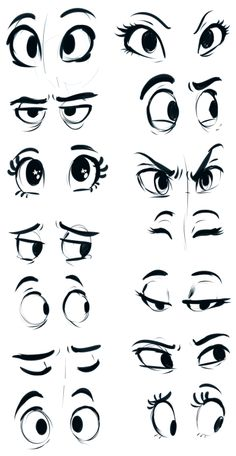 Eyes by sharpie91